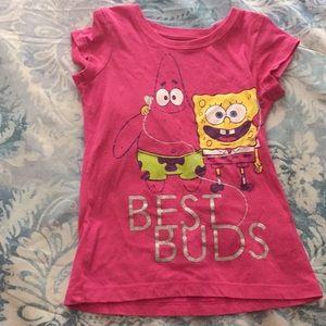 Spongebob size 6 top!